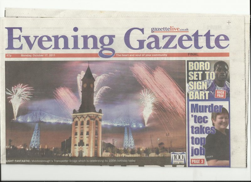 evening gazette middlesbrough